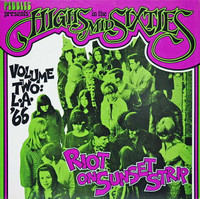 HIGHS IN THE MID 60's  Vol 02 - Riot on Sunset Strip  LAST COPIES-  Los Angeles -    COMPLP