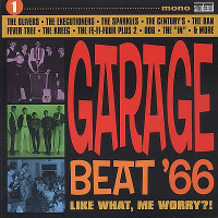 GARAGE BEAT 66  Vol 1: Like What, Me Worry?-COMPCD