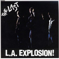 LAST - L.A. Explosion  w bonus tracks  & vintage postcard! (Great early L.A. punk/ pop)  - CD