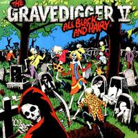 GRAVEDIGGER V -All Black & Hairy (Pebbles style Paisley garage) -BLACK VINYL  LP