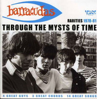 BARRACUDAS - Through the Mysts of Time ( 70s surf rock garage collection of demos & outtakes ) - LP