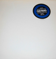 GERMS -Live at the Whiskey 1977 -BLUE VINYL LP