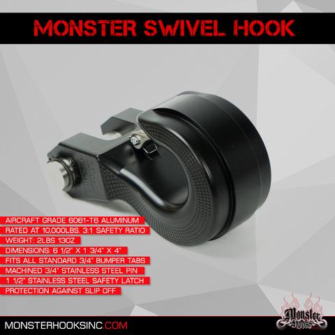 Monster Hooks - Swivel Hooks
