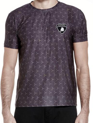 fashion smart polo casual shirt automobili lamborghini pin t