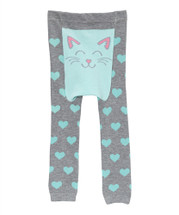 Gray Cat Leggings