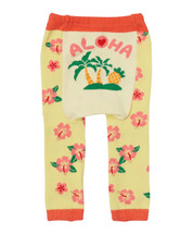 Yellow Floral 'Aloha' Leggings