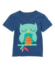 Navy Owl Tee