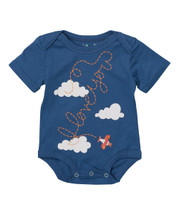 Red Plane Cloud bodysuit