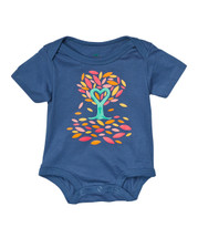 Navy Tree Bodysuit