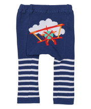 Red Plane Stripes Leggings