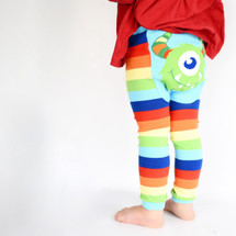 Rainbow Monster Cotton Leggings