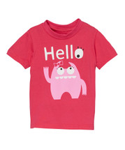 Pink Monster HELLO Tshirt