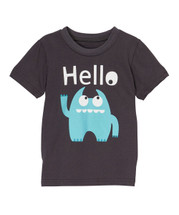 Blue Monster HELLO Tshirt
