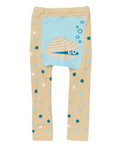 Baby Blue Clam Shell Leggings
