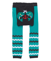Teal Narwhal Leggings