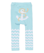 Baby Blue Anchor Leggings