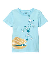 Light Blue Clam Tee