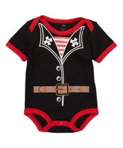 Black Pirate Bodysuit