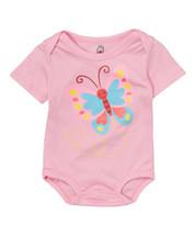 Pink Butterfly Bodysuit