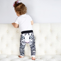 Tiger White Leggings