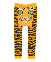 Orange Tiger Leggings