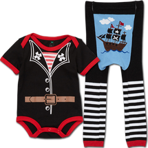 Pirate Leggings and matching Bodysuit