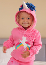 Unicorn Rainbow 3D Hoodie with Horn