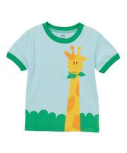 Blue Giraffe Shirt