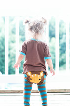 Woodland Fawn Cotton Leggings