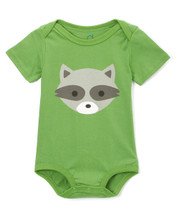Woodland Raccoon Bodysuit