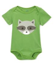 Woodland Raccoon Bodysuit