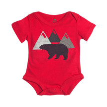 Red Bear Bodysuit