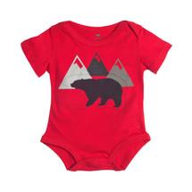 Red Bear Bodysuit