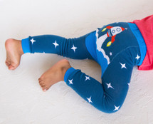 Rocketship Blue Legging