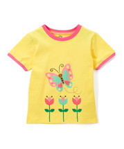 Yellow Butterfly Shirt