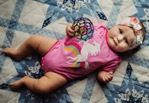 Unicorn Rainbow Pink Bodysuit