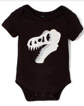 Dino T-Rex Black Bodysuit