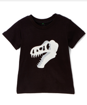 Dino T-Rex Black Shirt