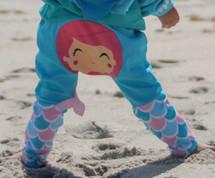 Mermaid Cotton Pants