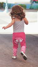 Pink Monster Cotton Pants