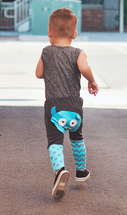 Blue Monster cotton Pants