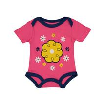 Pink Flower Bodysuit