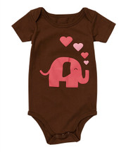 Brown Lady Elephant Bodysuit