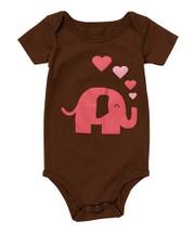 Brown Lady Elephant Bodysuit