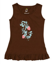 Brown Strawberry Dress