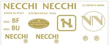 Necchi  Restoration Decals