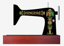 Singer 66 Lotus Restoration Dedcals