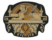 Singer Sphinx Center Bed Sample Restoration Decal