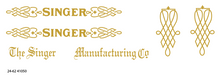 Singer 24-62 Sewing Machine Restoration Decals  SingerDecals.com