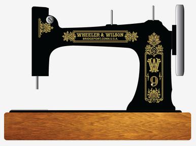 Wheeler Wilson W9 Restoration Decals